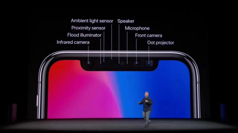 iPhone X深度摄像头