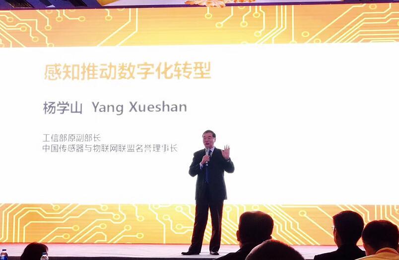 工信部原副部长杨学山先生发表主题演讲