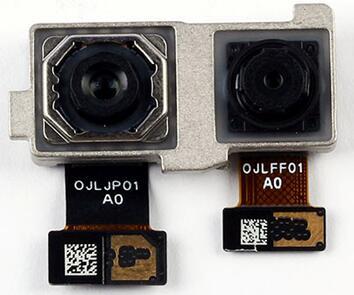 1600万+800万像素后置摄像头模组由欧菲光提供,镜头由大立光学提供