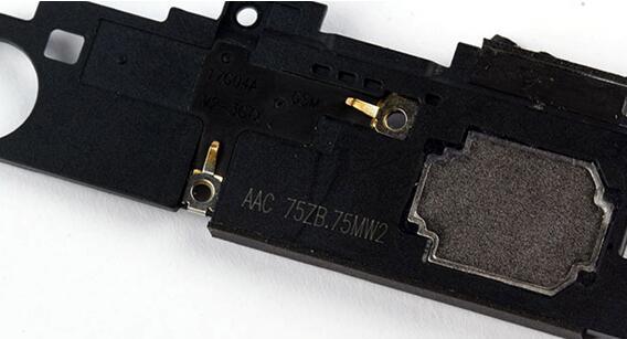 金立S10单喇叭输出一体音腔扬声器和听筒模块由AAC瑞声科技提供