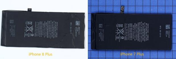 iPhone 8 Plus电池容量为2691 mAh