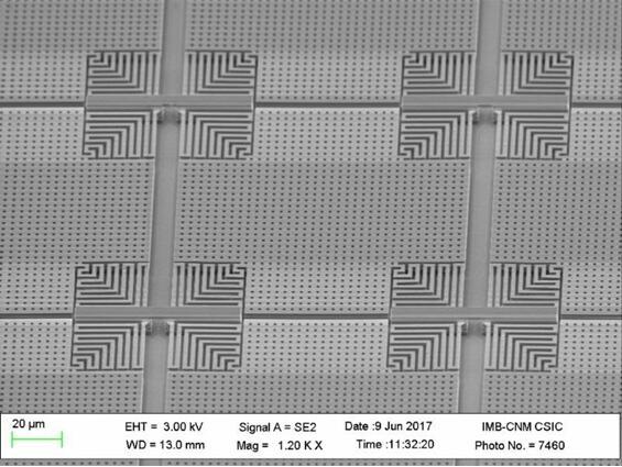 Nanusens开发的NEMS运动传感器