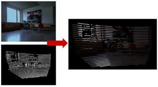 摄像头和LiDAR分别对物体识别后再进行标定
