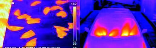 食品生产线质量控制汽车挡风玻璃除霜检验