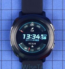 三星Gear Sport智能运动手表