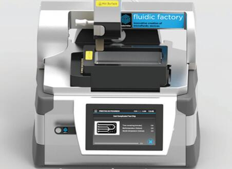 世界上第一台商用微流控芯片3D打印机:Fluidic Factory