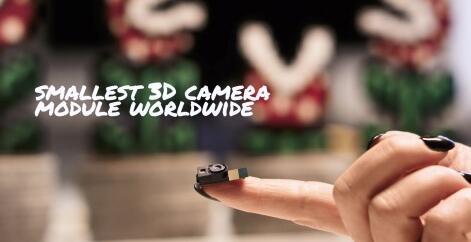 pmd携手英飞凌推出尺寸仅为12 mm x 8 mm的全球最小3D摄像头模组