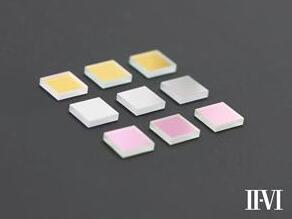 II-VI推出显示屏亮度和色彩测量应用的三刺激色度滤光片