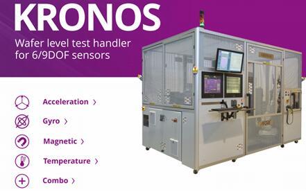 Afore公司KRONOS系列6/9自由度传感器晶圆级测试机