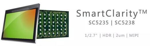 500万像素结合BSI像素技术,SmartClarity系列两款新产品震撼登场
