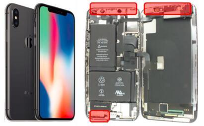 苹果iPhone X拆解分析:仅用了三颗MEMS麦克风