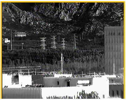 i3system新款12μm像元XGA(640 x 480)焦平面探测器成像样张