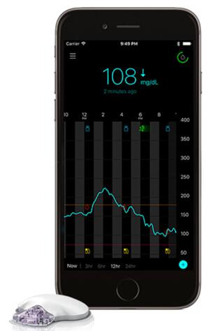 iPhone应用程序记录并显示患者的血糖情况