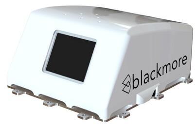 Blackmore推出的全球首款汽车应用的FMCW LiDAR,最大探测距离超过200m;速度测量+/- 150m/s, 分辨率0.2m/s