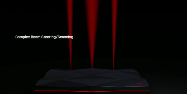 WARLORD雷达能发射可操控的高度定向的电磁波束