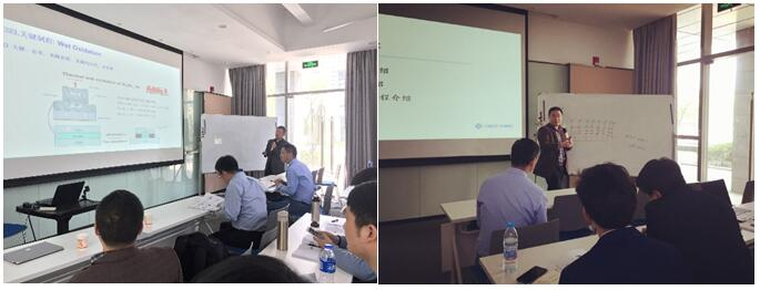 华芯半导体的VCSEL产品经理王青老师和研发中心主任尧舜老师