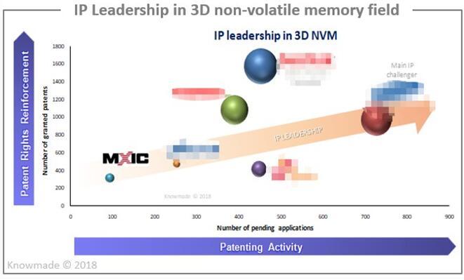 3D NVM领域的专利领导者