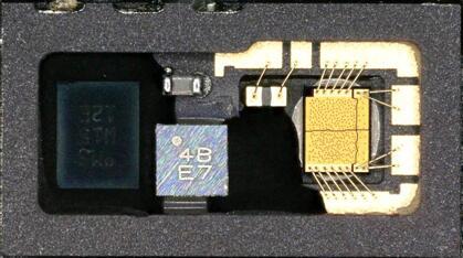 iPhone X红外点阵投影器中的VCSEL