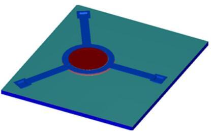 生成的可调谐滤波器三维模型