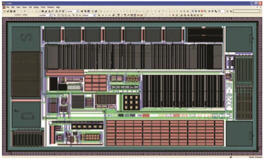 Tanner L-Edit IC芯片视图:版图工具是一个综合的模拟/混合信号(AMS)IC物理设计环境