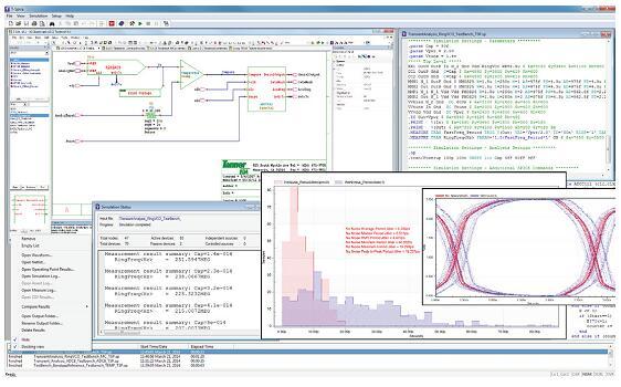 Tanner T-Spice集成了Tanner S-Edit原理图编辑器和Tanner波形查看器,提供了一个高效的集成环境