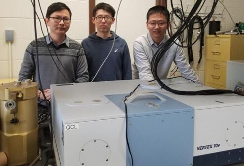图为太赫兹光子实验室