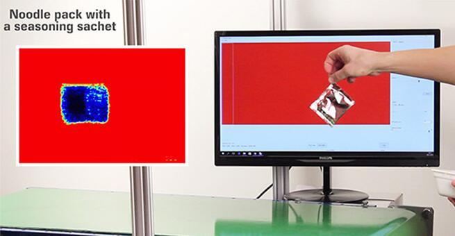 太赫兹(THz)成像系统检测调料包