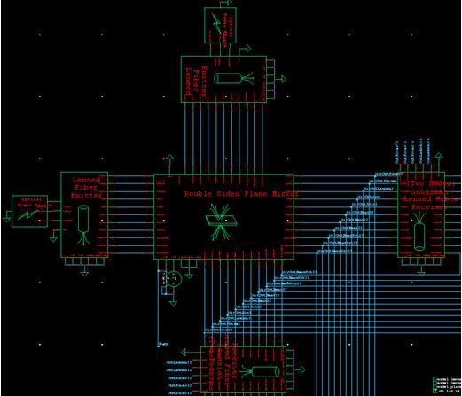 光学元器件的电路图