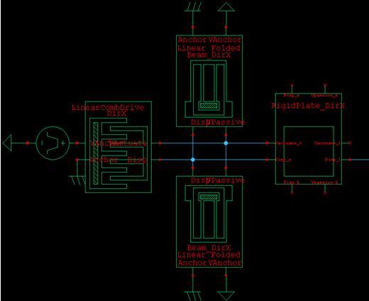 机械元器件的电路图