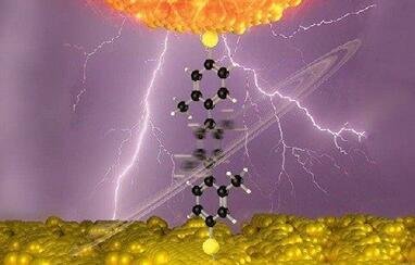 一种可用电控制开关的有机分子