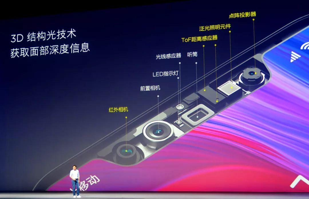 艾迈斯半导体VCSEL阵列助力小米8探索版智能手机实现脸部识别功能