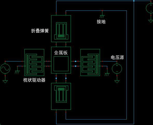谐振器电路图