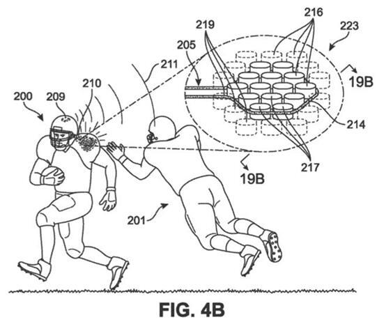 耐克最新专利旨在通过冲击感应护具保护运动员