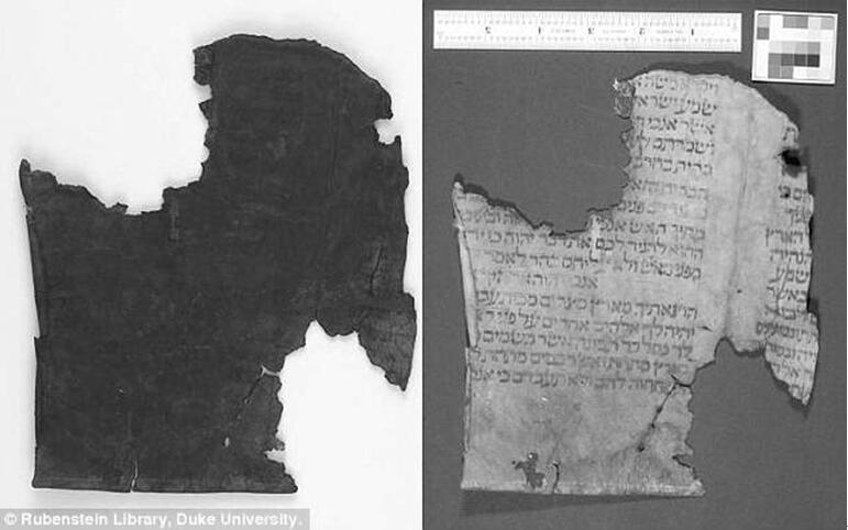 杜克大学图书馆的研究小组使用多光谱成像来阅读古老的希伯来文字,这些文字因腐烂而变得难以辨认