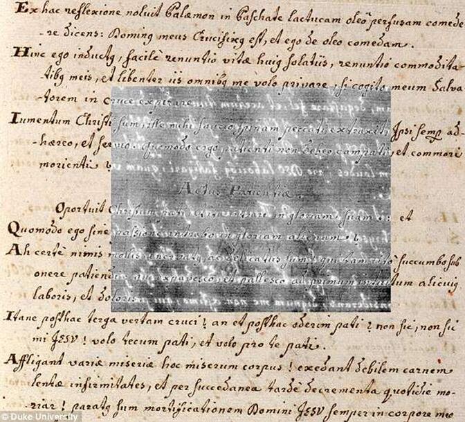 该技术也可用于读取已被擦除和被字迹覆盖的文本。计算机算法会搜索单个图像之间的差异并将它们组合起来,提取在白光下可能难以辨认的微妙细节