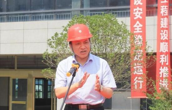 湖南启泰传感科技有限公司董事长王国秋讲话