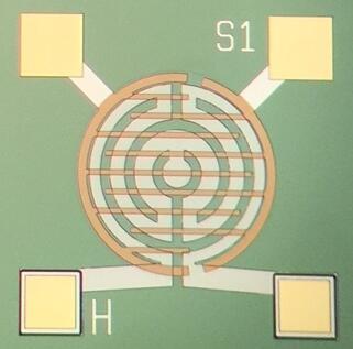 集成微热板的金属氧化物气体传感器