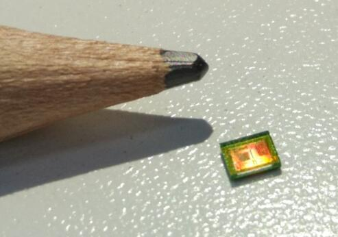 艾普柯ToF传感器芯片小型化的成果展示