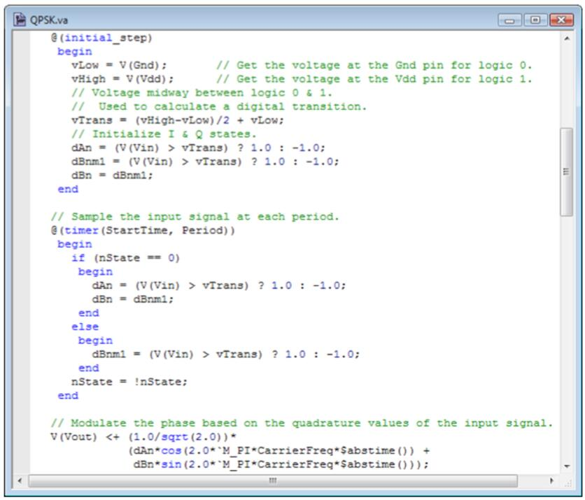 qpsk数字信号调制与verilog-a qpsk调制码