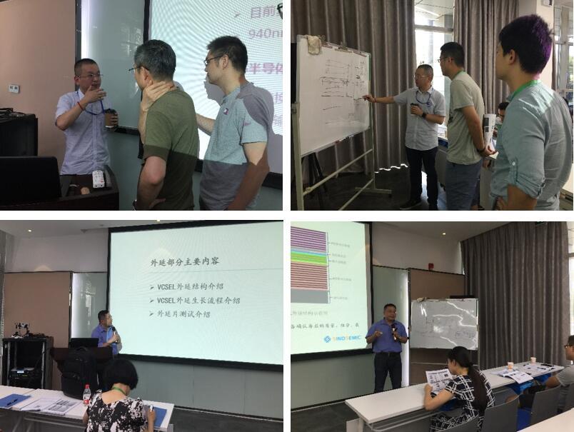 华芯半导体的VCSEL产品经理王青和研发中心主任尧舜深入剖析VCSEL工艺