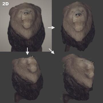 AIRY3D的DepthIQ 3D技术不同于其它红外成像或多目视觉方案,它能够利用单颗摄像头拍摄的单张图像渲染3D点云图