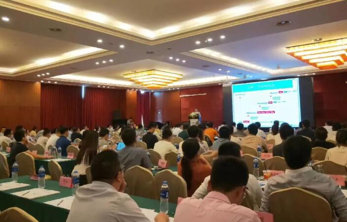 麦姆斯咨询王懿演讲@创新技术与渠道资源对接峰会现场
