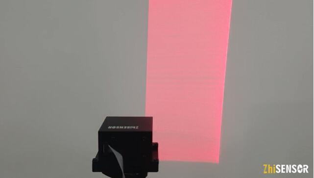 知微传感提供的基于MEMS微振镜的结构光发生器