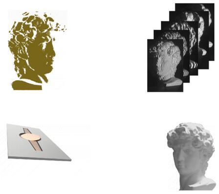 基于MEMS微振镜方案的3D成像原理示意图
