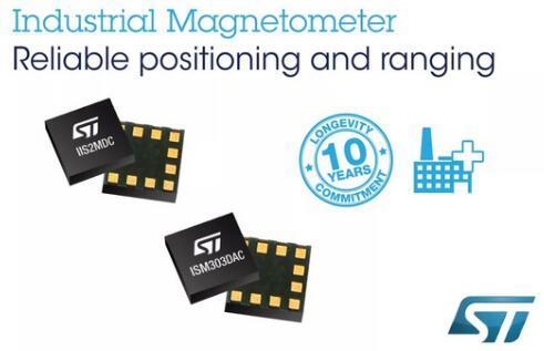 ST推出工业磁力计和电子罗盘,提升智能电表篡改检测和精密运动感测性能