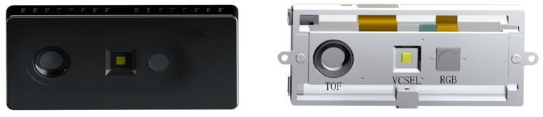 艾芯智能AXON M3外观(左)和AXON M3 RGBD模组(右)