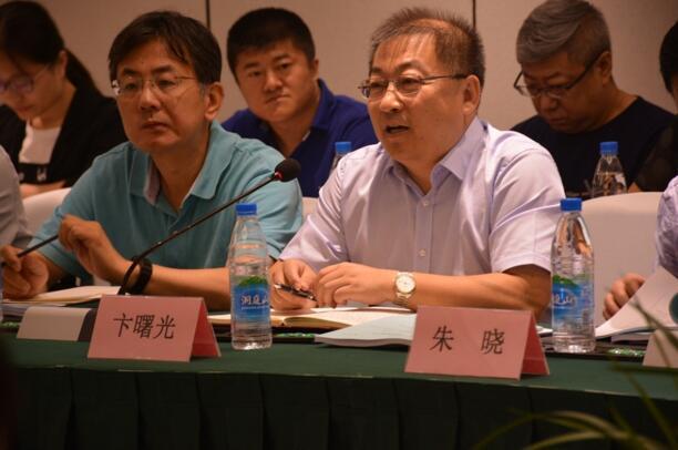 科技部高技术中心卞曙光副主任发表讲话