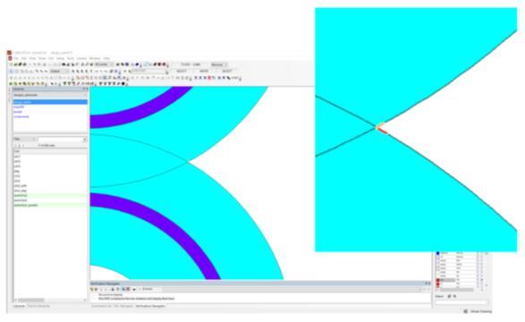 设计人员可以轻松地根据晶圆代工厂提供的规则验证电路有无DRC违规,并与结果输出的浏览器和版图进行交互