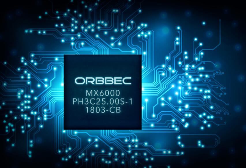奥比中光为3D视觉ASIC芯片:MX6000