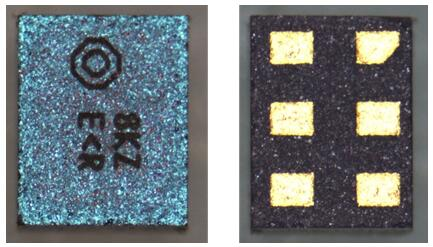 EPCOS BAW滤波器产品的正面与背面